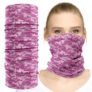 Face Tube Mask Neck Gaiter With Full Color Graphic Dye Sublimation Print